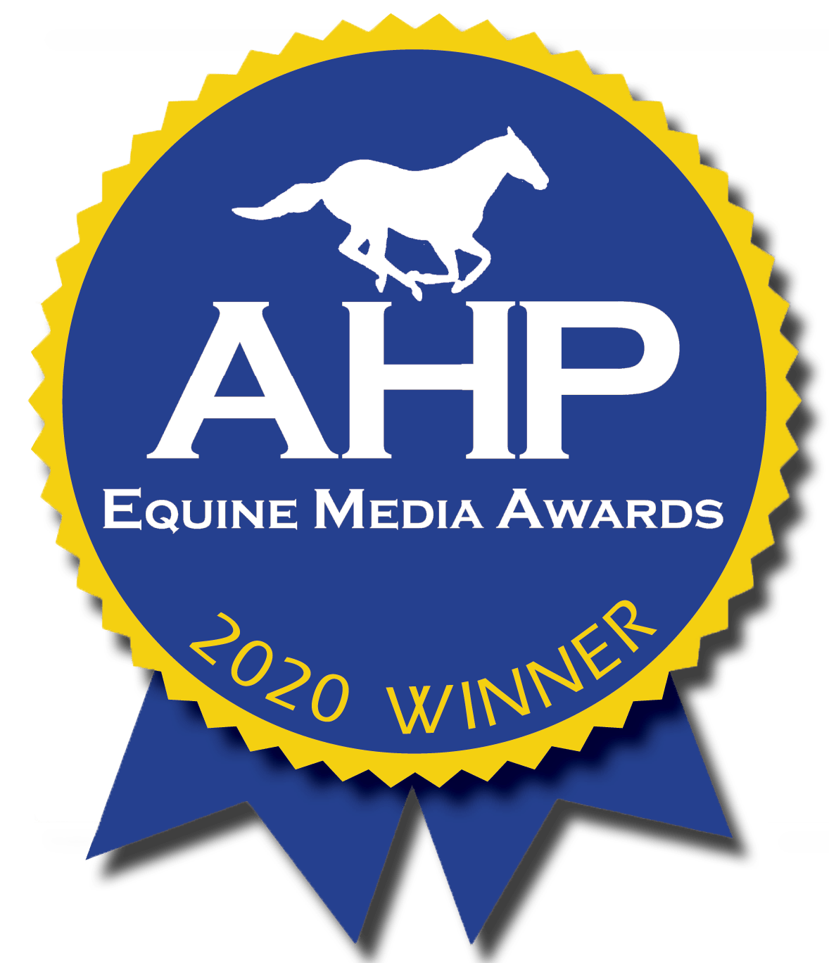 Equinews award for Buest Business Equine-Related Website from the American Horse Publications