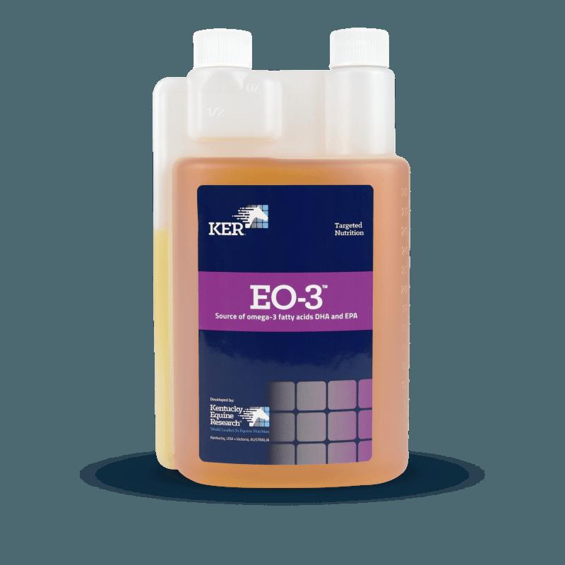 EO-3 omega-3 supplement for horses