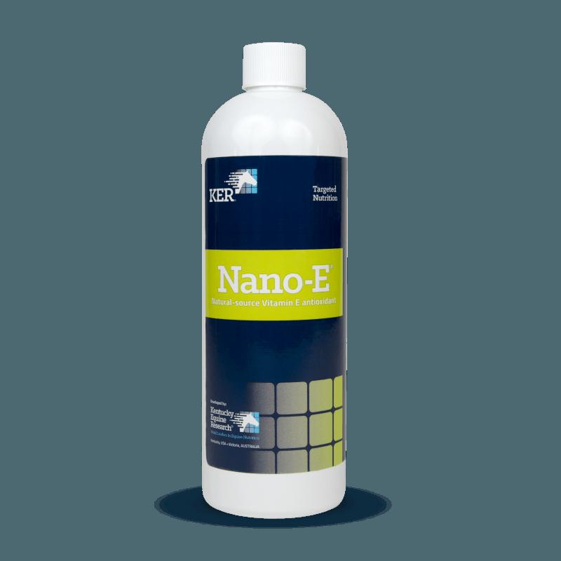 Nano-E vitamin E antioxidant for horses
