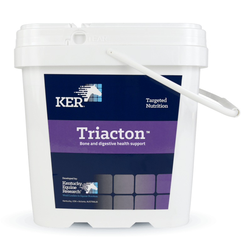 Triacton bone and digestive supplement for horses