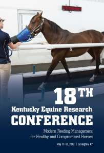 2012 Kentucky Equine Research conference Proceedings